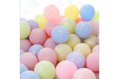[Ready Stock] 10'' Party Balloon (100pcs/pack) Macaroon Color Balloon Party Event Decoration