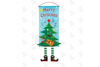 [Ready Stock] Xmas Hanging Banner Decoration for Christmas Window or Wall Display for Party Function