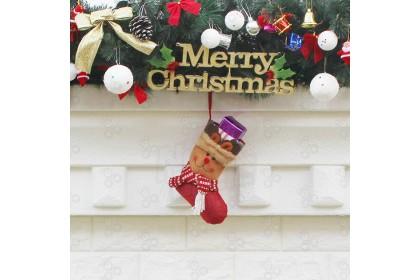 [Ready Stock] XMAS SOCKS GIFT大號裝飾聖誕襪 - Christmas Decoration Props