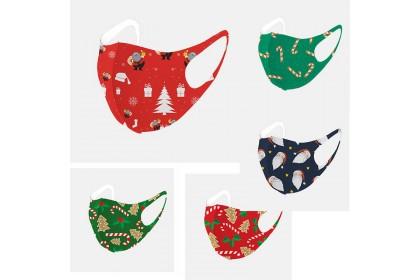 [Ready Stock] Xmas Adult Face Mask 聖誕口罩 (成人款)