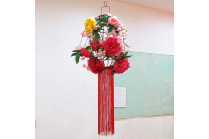 [Pre-Order] Chinese Hanging Bird Cage Decoration  新春佳節特別設計款鸟笼吊饰装饰 (Custom Made)