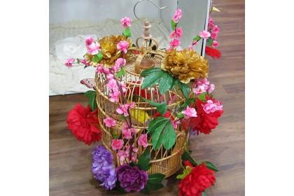 [Pre-Order] Lan03 Chinese Hanging Bird Cage Decoration  新春佳節特別設計款鸟笼吊饰装饰 (Custom Made)