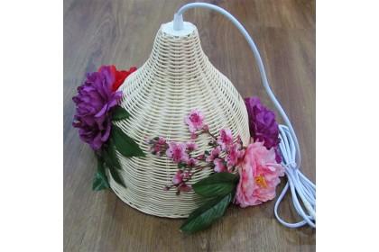 [Pre-Order] BAMBOO HANGING LAMP DECORATION  特別設計款竹吊灯吊饰装饰 (Custom Made)