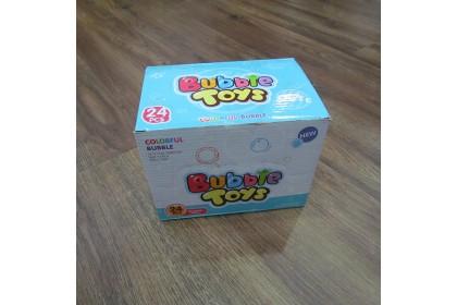 [Ready Stock] Unicorn Small Bubble Bar stick for Kids Hard Toy 卡通独角兽泡泡棒 (3in1/set)