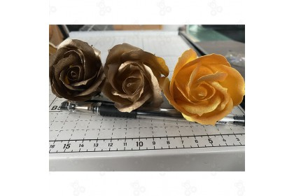 (Ready Stock) (3 layers) Soap Rose Special Gold Chrome Silver 50pcs/box for Festival Celebration