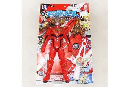 [Ready Stock] Variety Super God Hero Super hero Hard Toy 百变超神英雄超人玩具