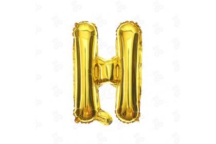 """[Ready Stock] 16"""" Alphabet A~Z Party Foil Balloon [Gold] 1pcs"""