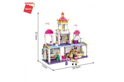 Qman Enlighten No. 2610 Princess Leah Leah's Birthday Party 587pcs Brick Set