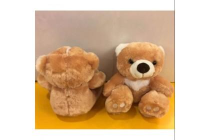 (Ready Stock) 19cm Cute teddy Bear Stuffed Toy Plush Toy Doll