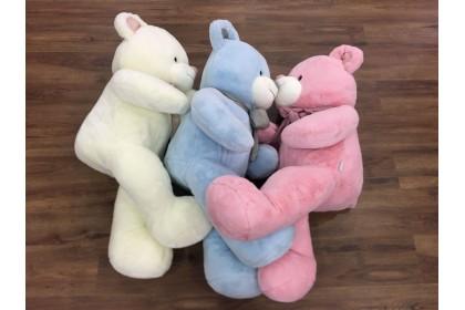 (Ready Stock) 110cm Ribbon Bear Teddy Bear Stuffed Plush Toys ~