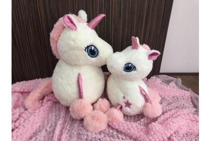 (Ready Stock) 50cm Beauty Sakura Unicorn stuffed Plush Toys ~