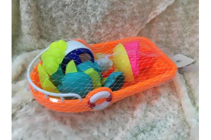 (Ready Stock) 14 pieces Sand Beach Boat ..