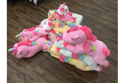 (Ready Stock) 80cm Cute Unicorn Stuffed Toy Plush Toy Doll