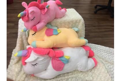 (Ready Stock) 60cm Cute Unicorn  Stuffed Toy Plush Toy Doll..