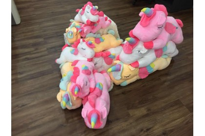 (Ready Stock) 100cm Cute Unicorn Stuffed Toy Plush Toy Doll