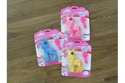 (Ready Stock) 10cm  Lovely Dream Horse Hard Toy...