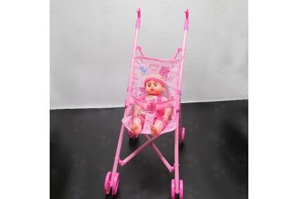 (Ready Stock)  Baby Dolls Stroller Pram toys with Baby Doll ..