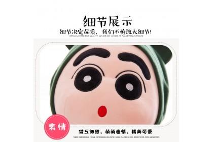 (Ready Stock)35cm Cute Wearing Hoodie Little Boy Stuffed Toy Plush Toy Doll