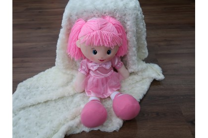 (Ready Stock50cm Cute Candy Girl Stuffed Toy Plush Toy Doll