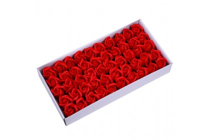 (Ready Stock) (2 layers) Soap Rose 50pcs/box for Valentine for Mother's Day for Lover for Celebration