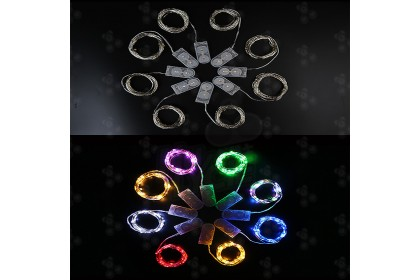 (Ready Stock) 1meter Led Fairy Strip Party Lights Romantic Led Battery