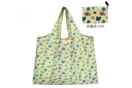 (Ready Stock) Foldable Handy Shopping Bag/Recycle Bag/Reusable Tote Grocery shopping Bags