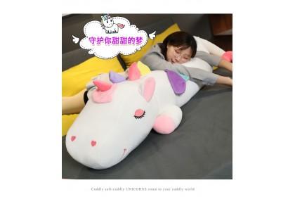 (Ready Stock) 150cm Sweet Unicorn Doll Pillow Soft Plush Doll  Stuffed Doll Birthday Gift