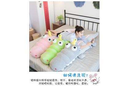 (Ready Stock) 120cm Cute Crocodile Sweet Love +Little Bird Pillow Stuffed Toy Plush Toy Doll