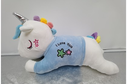 (Ready Stock)  2020 New 35cm Cute Sweet Love Unicorn Pillow Birthday Gift Stuffed Toy Plush Toy Doll