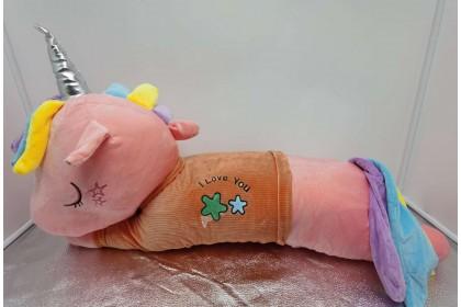 (Ready Stock) 2020 New 90cm Cute Sweet Love Unicorn Pillow Birthday Gift  Stuffed Toy Plush Toy Doll