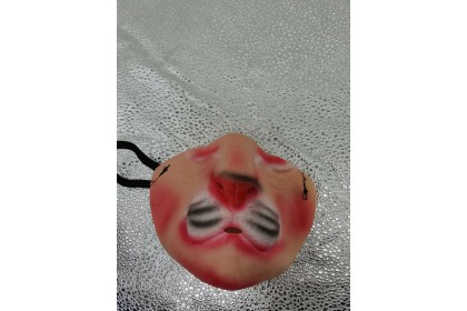 (Ready Stock) Scary Horrible Halloween  Cosplay Costume Half Face Masks For Boy and Girl