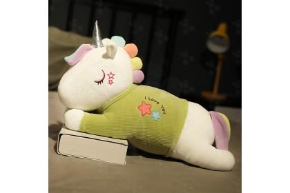 [READY STOCK] 26CM Cute Unicorn With I Love U Plush Toys Soft Toy Present Birthday Gift